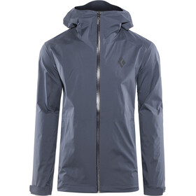 Black Diamond Stormline Stretch Regen Shell Jacke Herren captain